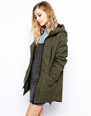 Image 1 of ASOS Oversized Cocoon Parka