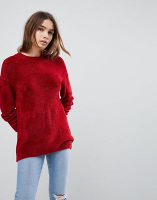 ASOS Oversized Jumper in Chenille