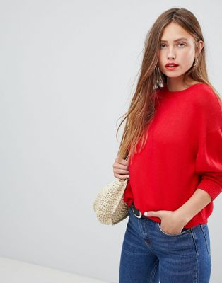 Image 1 of ASOS Oversized Jumper with Crew Neck