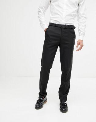 ASOS - Pantaloni da abito slim neri
