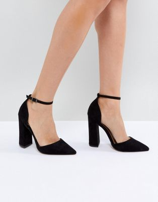 ASOS PEBBLE Pointed High Heels