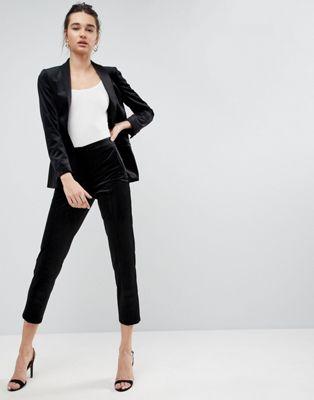 ASOS Premium Velvet Tux Trouser