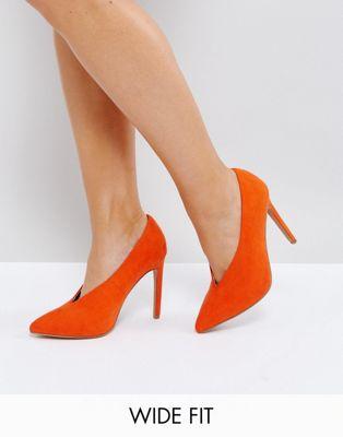 ASOS PRIORITY Wide Fit High Heels