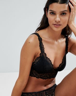 ASOS Rita Basic Lace Mix & Match Moulded Triangle Bra