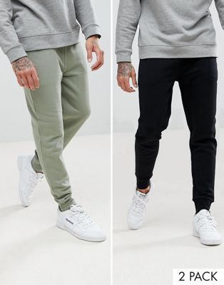 ASOS Skinny Joggers 2 Pack SAVE