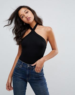 ASOS Sleeveless Body with Halter Neck