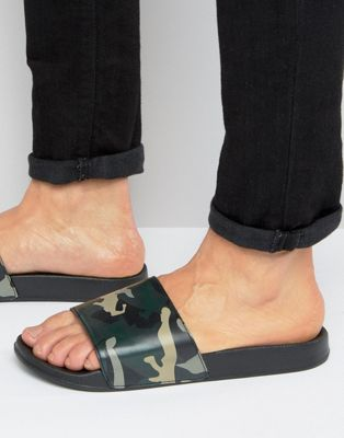 ASOS Slider In Camo