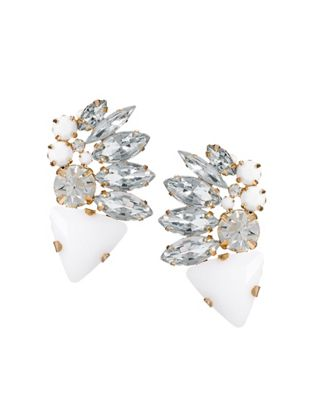 Image 1 of ASOS Sparkle Shower Stud Earrings