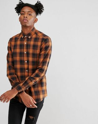 ASOS Stretch Slim Check Shirt