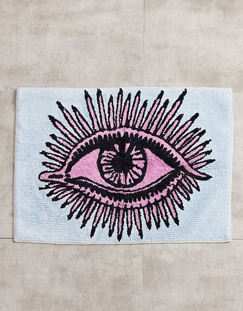 ASOS SUPPLY - Eye see you - Tapis de bain