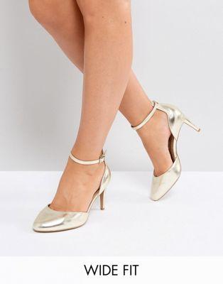 ASOS SWALLOW Wide Fit Heels