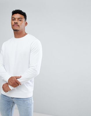 ASOS Sweatshirt In White