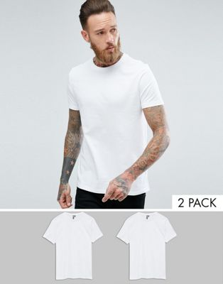 ASOS T-Shirt With Crew Neck 2 Pack SAVE