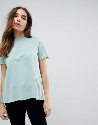 ASOS T-Shirt With Wrap Back