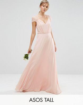 ASOS TALL Kate Lace Maxi Dress