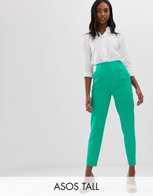 ASOS TALL Mix & Match Highwaist Cigarette Trousers