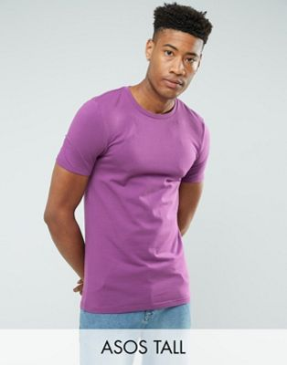 ASOS TALL - T-shirt moulant - Violet