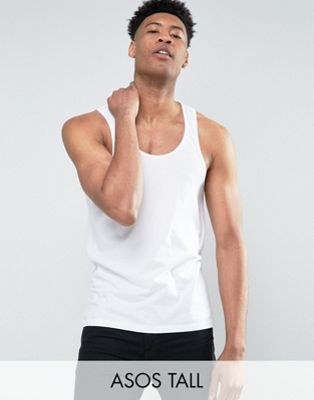 ASOS TALL Vest In White
