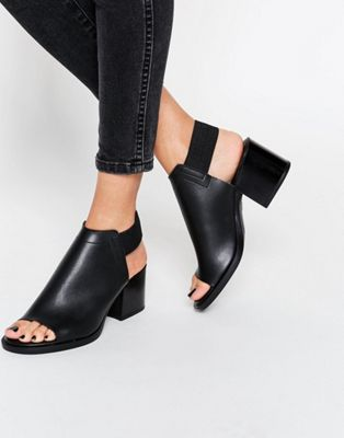 ASOS TATE Sling Back Ankle Boots
