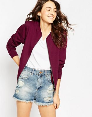 Image 1 of ASOS The Bomber Jacket In Jersey