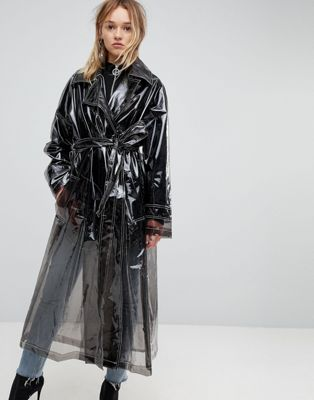 ASOS - Trench transparent