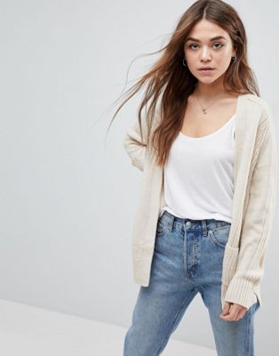 ASOS Ultimate Chunky Knit Cardigan
