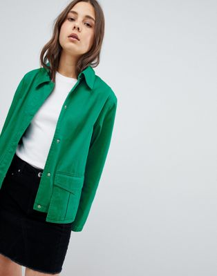 ASOS Washed Cotton Jacket