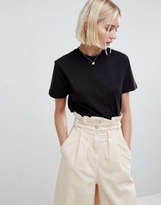 ASOS WHITE 100% Organic Basic T-Shirt
