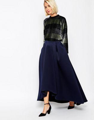 ASOS WHITE Extreme Full Skirt