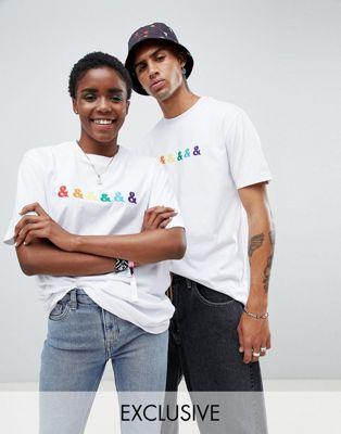 ASOS x GLAAD – T-Shirt mit Stickerei