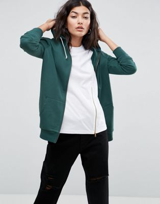 ASOS Zip Through Hoodie