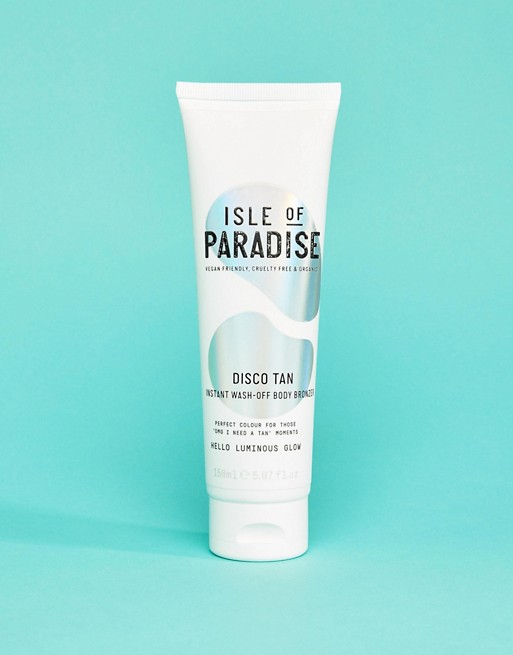 Imagen 1 de Autobronceador corporal instantáneo que se elimina con el lavado de 200 ml Disco de Isle of Paradise