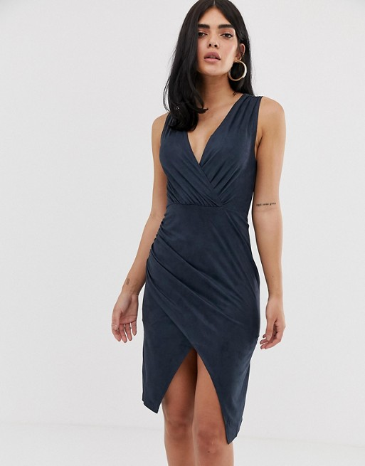 AX Paris midi wrap dress