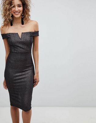 AX Paris – Midiklänning i singoalla-modell