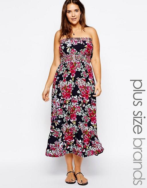 AX Paris Plus Size Floral Maxi Dress | ASOS