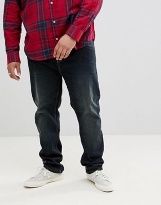 BadRhino Big Dirty Tint Jean In Tapered Fit
