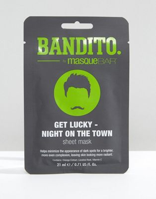 Bandito Bandito Get Lucky - Night on the Town Sheet Mask