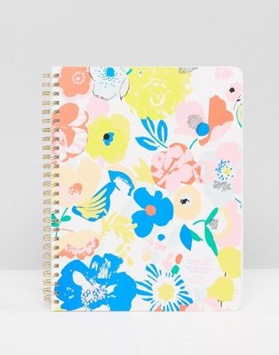 Ban.Do Floral Spiral Notebook