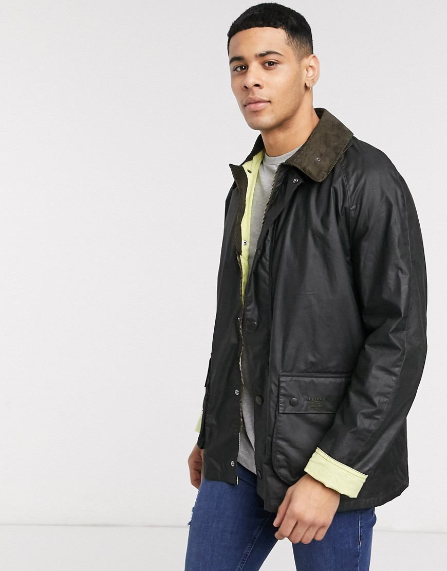 Barbour Beacon Morgan jacket in sage-Green