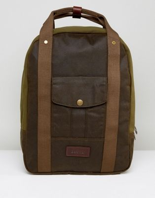 Barbour Heritage Utility Backpack in Green