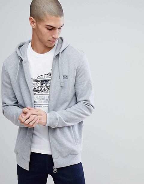 Barbour International - Essentiële hoodie in grijs