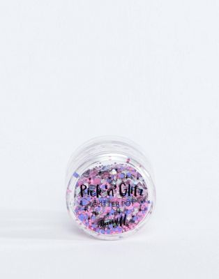 Barry M Limited Edition Pick 'n' Glitz Glitter Pots - Sass