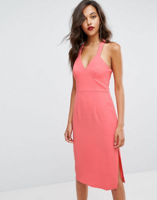 BCBGeneration Bodycon Coral Dress