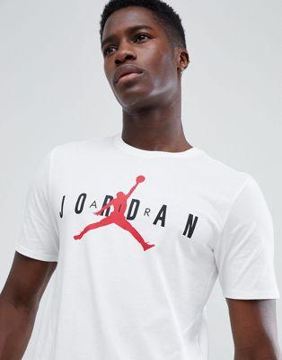 Белая футболка с логотипом Nike Jordan Air AA1907-100