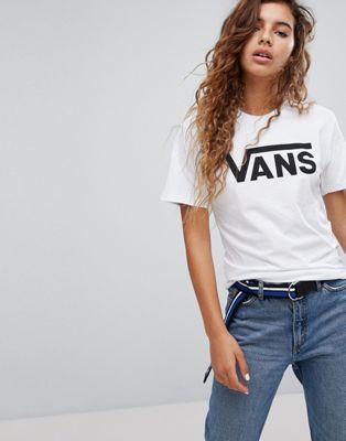 Изображение 1 из Белая футболка с логотипом Vans Classic