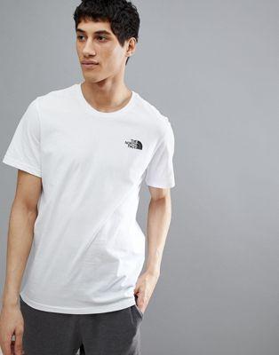 Белая футболка The North Face