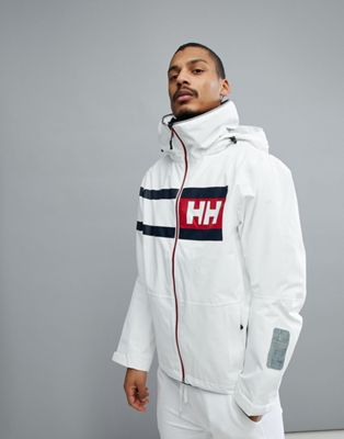 Белая куртка Helly Hansen Salt Power