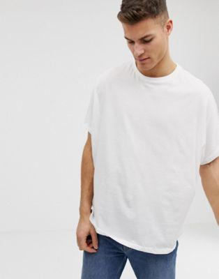 Белая oversize-футболка ASOS DESIGN