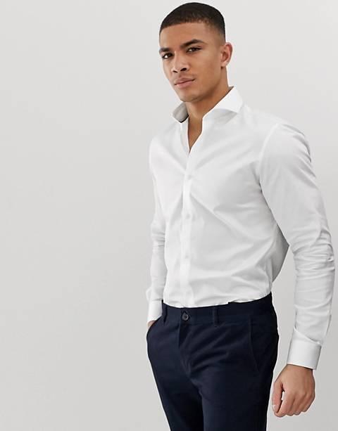 Белая рубашка Jack & Jones Premium