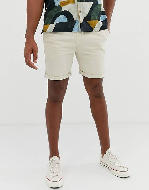Bellfield - Chinoshort in kiezelkleur